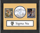 Sigma Nu Photo Frame - Lasting Memories Banner Collage Photo Frame in Arena