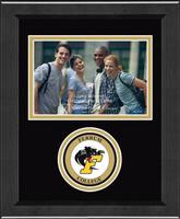Ferrum College Photo Frame - Lasting Memories Circle Logo Photo Frame in Arena