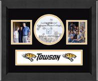 Towson University Photo Frame - Lasting Memories Banner Collage Photo Frame in Arena