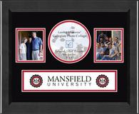 Mansfield University of Pennsylvania Photo Frame - Lasting Memories Banner Collage Photo Frame in Arena