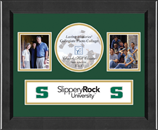 Slippery Rock University Photo Frame - Lasting Memories Banner Collage Photo Frame in Arena