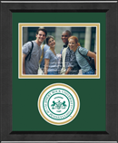 Slippery Rock University Photo Frame - Lasting Memories Circle Logo Photo Frame in Arena