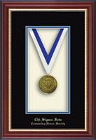 Chi Sigma Iota Counseling Honor Society Shadowbox - Commemorative Medal Shadow Box in Newport