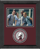 Lafayette College Photo Frame - Lasting Memories Circle Logo Photo Frame in Arena