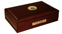 Loyola University Chicago Desk Box - Gold Engraved Medallion Desk Box