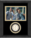 West Virginia State University Photo Frame - Lasting Memories Circle Logo Photo Frame in Arena
