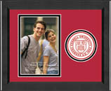 Cornell University Photo Frame - Lasting Memories Circle Logo Photo Frame in Arena