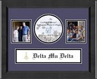 Delta Mu Delta Photo Frame - Lasting Memories Banner Collage Photo Frame in Arena