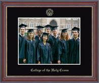 College of the Holy Cross Photo Frame - Embossed Photo Frame in Kensit Gold