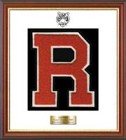 Ridgefield High School in Connecticut Varsity Letter Frame - Varsity Letter Frame in Newport
