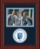 Thomas Jefferson University Photo Frame - Lasting Memories Circle Seal Photo Frame in Sierra