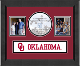 The University of Oklahoma Photo Frame - Lasting Memories Banner Collage Photo Frame in Arena