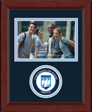 The University of Maine Orono Photo Frame - Lasting Memories Circle Logo Photo Frame in Sierra