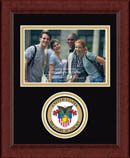 United States Military Academy Photo Frame - Lasting Memories Circle Logo Photo Frame in Sierra