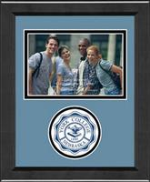 York College of Nebraska Photo Frame - Lasting Memories Circle Logo Photo Frame in Arena