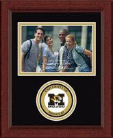 University of Missouri Columbia Photo Frame - Lasting Memories Circle Logo Photo Frame in Sierra