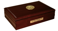 State of Texas Desk Box - Gold Engraved Medallion Desk Box