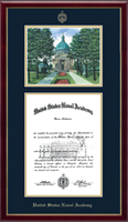 United States Naval Academy Diploma Frame - Litho Edition Diploma Frame in Galleria