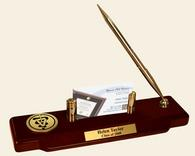 Veterinary Gifts and Desk Accessories Desk Pen Set - Gold Engraved Medallion Desk Pen Set