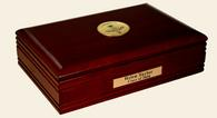Optometry Gifts and Desk Accessories Desk Box - Gold Engraved Medallion Desk Box