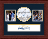 Gallaudet University Photo Frame - Lasting Memories Banner Collage Photo Frame in Sierra