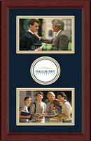 Gallaudet University Photo Frame - Lasting Memories Double Circle Logo Photo Frame in Sierra