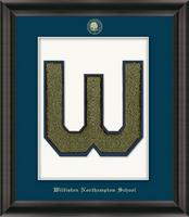 The Williston Northampton School Varsity Letter Frame - Varsity Letter Frame in Omega