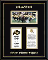 University of Colorado Boulder Legacy Frame - Ralphie Legacy Frame in Onexa Gold