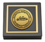 Florence-Darlington Technical College Paperweight - Engraved Medallion Paperweight - Web Only