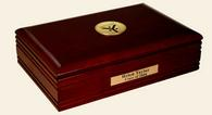 Yale University Desk Box - Gold Engraved Medallion Desk Box - Grad School of Arts & Sciences