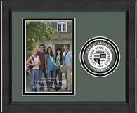Cleveland State University Photo Frame - Lasting Memories Circle Logo Photo Frame in Arena