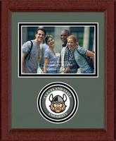 Cleveland State University Photo Frame - Lasting Memories Circle Logo Photo Frame in Sierra