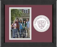 Westmont College Photo Frame - Lasting Memories Circle Logo Photo Frame in Arena