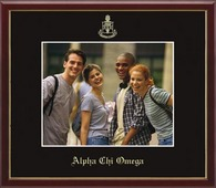 Alpha Chi Omega Photo Frame - Wall Hanging Embossed Photo Frame in Galleria