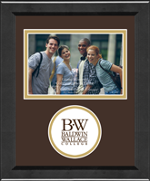Baldwin-Wallace College Photo Frame - Lasting Memories Circle Logo Photo Frame in Arena