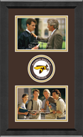Baldwin-Wallace College Photo Frame - Lasting Memories Double Circle Logo Photo Frame in Arena