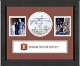 Oklahoma Christian University Photo Frame - Lasting Memories Banner Collage Photo Frame in Arena