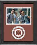 Oklahoma Christian University Photo Frame - Lasting Memories Circle Logo Photo Frame in Arena