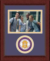 Concordia University Texas Photo Frame - Lasting Memories Circle Logo Photo Frame in Sierra