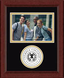 Temple College Photo Frame - Lasting Memories Circle Logo Photo Frame in Sierra