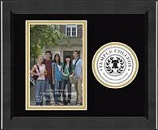 Temple College Photo Frame - Lasting Memories Circle Logo Photo Frame in Arena