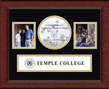 Temple College Photo Frame - Lasting Memories Banner Collage Photo Frame in Sierra