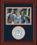 South Plains College Photo Frame - Lasting Memories Circle Logo Photo Frame in Sierra