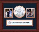 South Plains College Photo Frame - Lasting Memories Banner Collage Photo Frame in Sierra