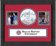 Dallas Baptist University Photo Frame - Lasting Memories Banner Collage Photo Frame in Arena