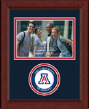 The University of Arizona Photo Frame - Lasting Memories Circle Logo Photo Frame in Sierra
