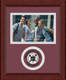 Mississippi State University Photo Frame - Lasting Memories Circle Logo Photo Frame in Sierra