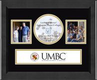 University of Maryland, Baltimore County Photo Frame - Lasting Memories Banner Collage Photo Frame in Arena