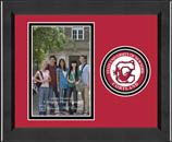 State University of New York Cortland Photo Frame - Lasting Memories Circle Logo Photo Frame in Arena