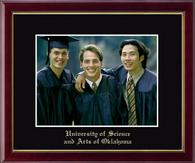 University of Science and Arts of Oklahoma Photo Frame - Embossed Photo Frame in Galleria